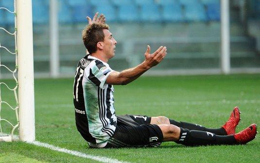 Înfrângere pentru Juventus în campionatul Italiei. Sampdoria conducea cu 3-0 în minutul 90. Cât s-a terminat meciul