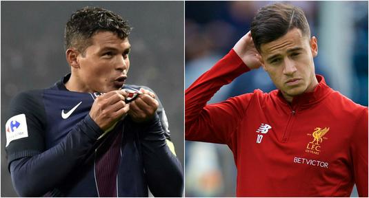 PSG intră în cursa pentru semnătura lui Coutinho! Thiago Silva ar putea fi cheia mutării!