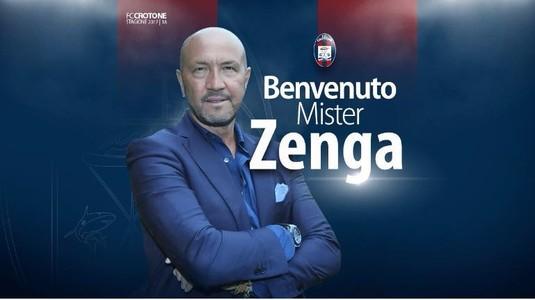 Walter Zenga a semnat cu Crotone, unde-l va pregăti pe Adrian Stoian