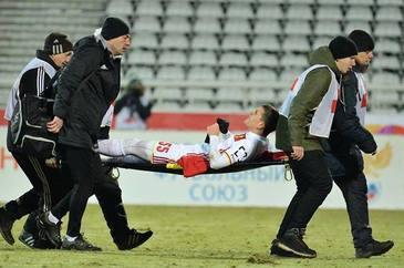 VIDEO | Accidentare îngrozitoare pentru Bourceanu. A urlat de durere pe teren. Verdict crunt primit din partea medicilor