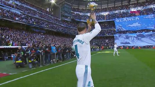 VIDEO   Încă o nebunie marca Sergio Ramos. Ce look a pregătit căpitanul Realului pentru meciul cu Barcelona