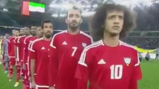 VIDEO | Organizatorii au redat imnul greşit la un meci din Cupa Golfului. Reacţia jucătorilor :)