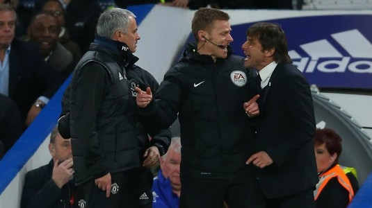 """Mourinho nu cedează şi continuă războiul cu Antonio Conte. Un nou atac virulent al portughezului: """"Mie nu mi s-a întâmplat niciodată aşa ceva"""""""