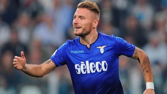 VIDEO | Atenţie, FCSB! Lazio a făcut spectacol în Serie A! Immobile a marcat patru goluri, reuşită în stilul lui Messi pentru Luis Alberto