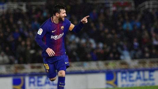 VIDEO | Messi e de neoprit în La Liga. A doborât un record vechi de mai bine de 40 de ani cu un gol superb în meciul cu Sociedad