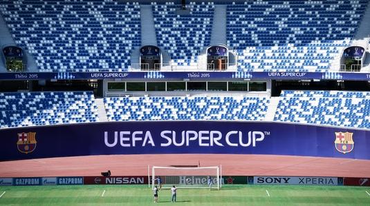 Nouă oraşe, printre care Chişinău, interesate să găzduiască Supercupa Europei din 2020!