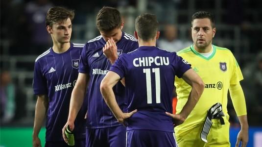 Rămas fără Stanciu, Chipciu are probleme la Anderlecht. Anunţul oficial al clubului înaintea partidei cu Genk