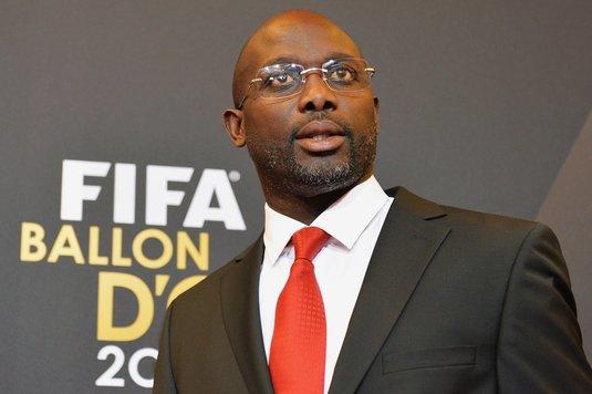 George Weah a depus jurământul. Fostul fotbalist este oficial preşedinte al Liberiei