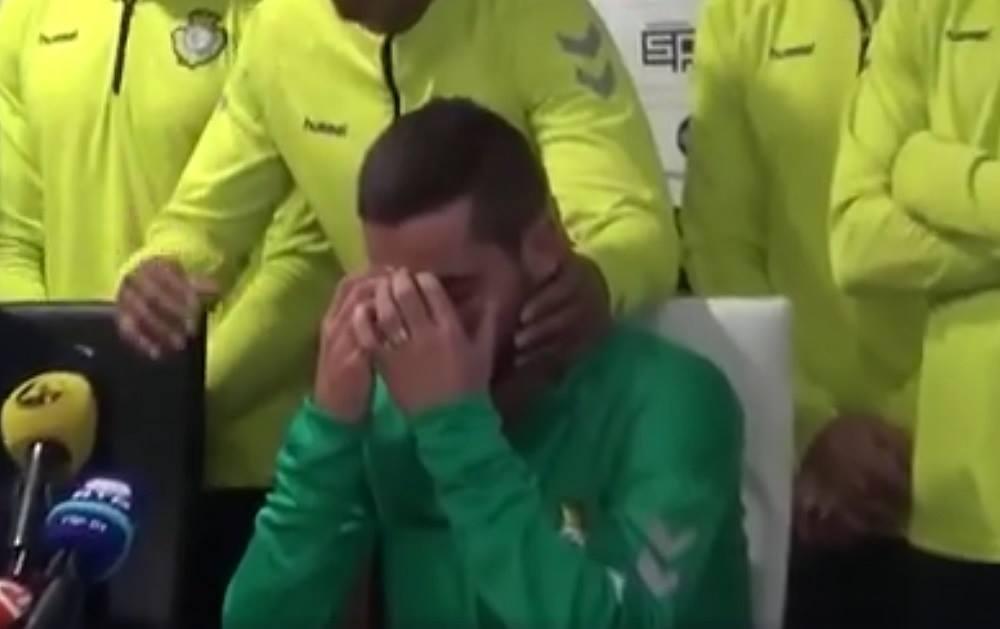 VIDEO IMPRESIONANT | A plecat din România şi astăzi a făcut un anunţ care face înconjurul lumii. Nu şi-a mai putut stăpâni lacrimile