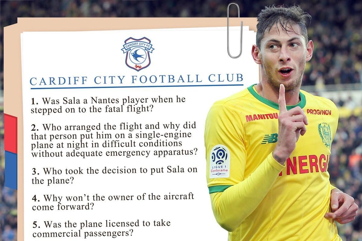 """Continuă războiul pe bani după moartea lui Sala. 10 întrebări puse de preşedintele lui Cardiff după prăbuşirea avionului: """"Cine a aranjat zborul?"""""""