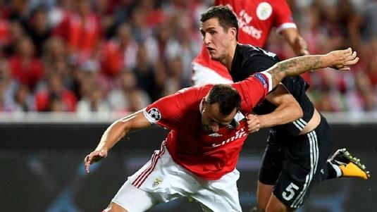 VIDEO. Benfica-ŢSKA Moscova 1-2. Nimic până-n pauză, nebunie în repriza a doua