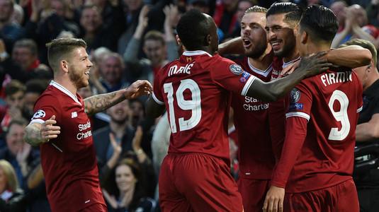 VIDEO   Remiză cu patru goluri, un penalty ratat şi o eliminare la Liverpool - Sevilla