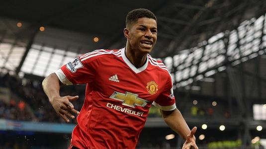 Miracolul Rashford! Atacantul lui United şi-a continuat debuturile incredibile cu gol şi în Liga Campionilor