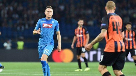 VIDEO Şahtior - Napoli 2-1, în grupa F din UCL