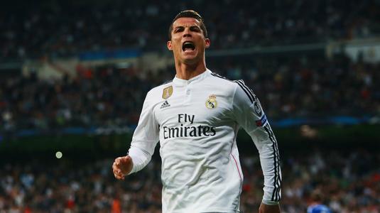Cristiano Ronaldo a ajuns la 108 goluri marcate în Liga Campionilor