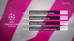 Marţi ai 7 meciuri din Liga Campionilor, în EXCLUSIVITATE pe canalele Telekom Sport. Programul complet
