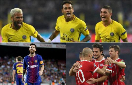VIDEO REZUMATE | Aici ai toate golurile serii de miercuri din UEFA Champions League! Execuţii de super clasă reuşite de Dzeko, Messi, Neymar şi David Luiz