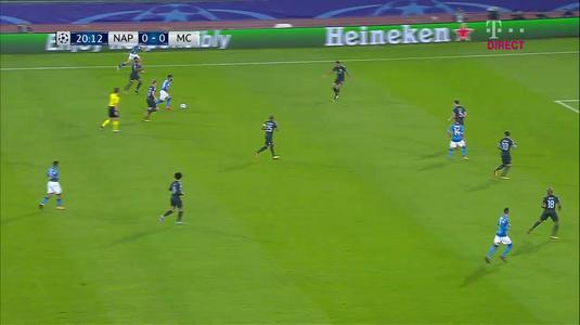 VIDEO | Apărarea de sute de milioane a lui Guardiola, ucisă din două pase! Gol superb marcat de Napoli