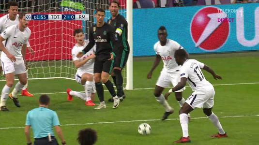 VIDEO | Aşa se explică UMILINŢA suferită de Real în faţa lui Tottenham! Cristiano Ronaldo îi refuză un gol lui Ramos