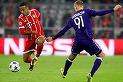VIDEO | Bayern Munchen s-a impus în faţa celor de la Anderlecht, scor 2-1