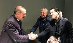 Galerie FOTO | Răzvan Burleanu, alături de Erdogan în Champions League! Ce meci au văzut împreună şi ce au discutat