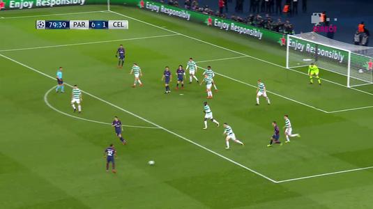 VIDEO   Dani Alves le-a aruncat PROSOPUL scoţienilor de la Celtic! Brazilianul a marcat un super gol