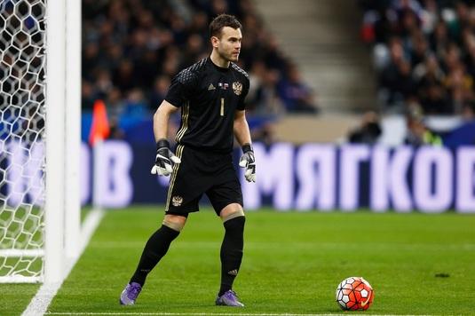 Minune, marca Champions League. După 11 ani, portarul Igor Akinfeev nu a încasat gol în Liga Campionilor