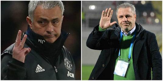 """Capitolul la care Şumudică se ridică la nivelul lui Mourinho. """"Ăsta e punctul lor forte!"""" Concluzia jucătorului care a lucrat cu ambii antrenori"""