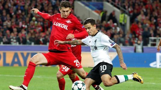 LIVE VIDEO   Liverpool - Spartak Moscova, miercuri, ora 21.45, Telekom Sport 2