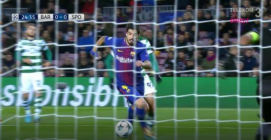 VIDEO | Toată lumea a crezut că va fi gol. Cum a ratat Suarez după ce a trecut superb de un adversar