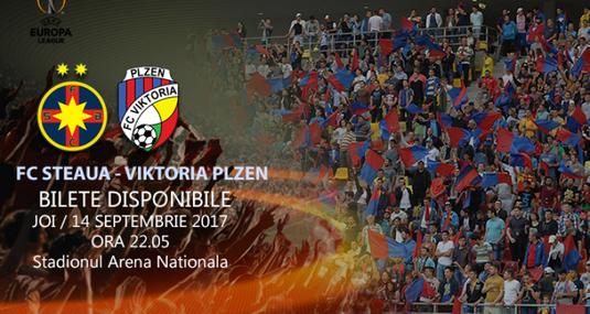 FCSB a anunţat preţurile biletelor pentru primul meci din Europa League cu Viktoria Plzen