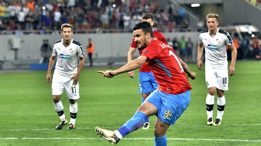 Constantin Budescu, ales de fani jucătorul primei etape din Europa League