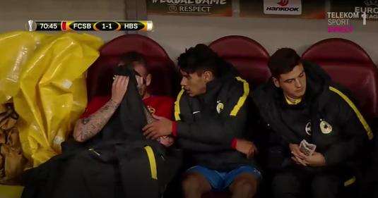 Reacţia patronului FCSB după ce Denis Alibec a izbucnit în plâns