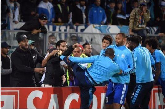 VIDEO. Probleme mari şi anchetă internă a clubului Olympique Marseille după incidentul în care a fost implicat Evra