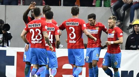 Patru jucători importanţi ai FCSB au rămas la Bucureşti! Golofca are şanse să fie titular. Cu cine s-au întâlnit băieţii lui Dică la plecare VIDEO