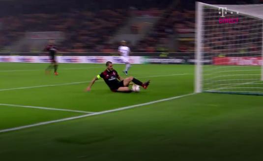 VIDEO | Faza la care Bonucci s-a simţit mic. Gafă unică în carieră făcută de fundaşul lui AC Milan! A fost salvat de colegi