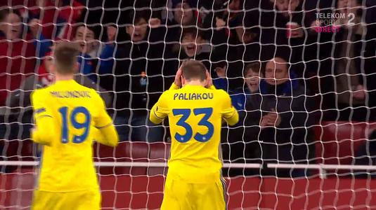 VIDEO | Nici cel mai tare atacant nu finaliza aşa! Autogol absolut INCREDIBIL în meciul Arsenal-BATE