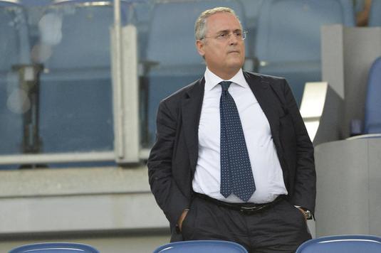 Presa italiană scrie că Lotito se gândeşte să retragă Lazio din campionat. Ce l-a enervat