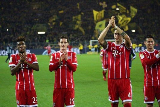 VIDEO | Victorie clară pentru Bayern Munchen în derby-ul cu Borussia Dortmund. Gazdele au reuşit însă golul meciului!