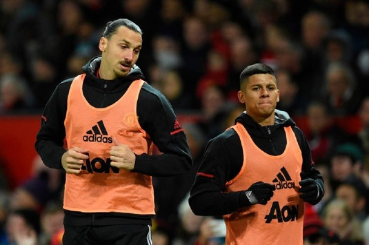 Moment senzaţional cu Zlatan, în momentul în care a semnat cu United. Cum a băgat spaima în magazioneri :)