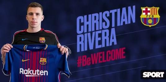 FOTO | FC Barcelona a anunţat că a făcut încă un transfer