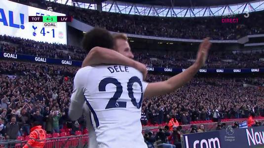 VIDEO | Tottenham - Liverpool 4-1! Kane, omul unui meci în care Klopp a fost trădat din nou de apărare. Arsenal, victorie la scor cu Everton. Vezi toate fazele