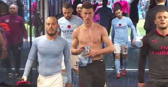 FOTO + VIDEO | Imagini unice din vestiar! Ce s-a întâmplat după meci între fotbaliştii de la Manchester City şi Arsenal