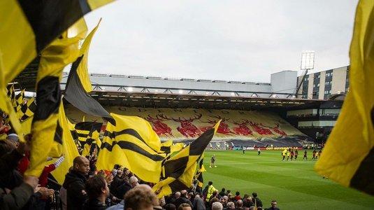 Watford şi Stoke City au fost amendate, după incidentele de la meciul din 28 octombrie