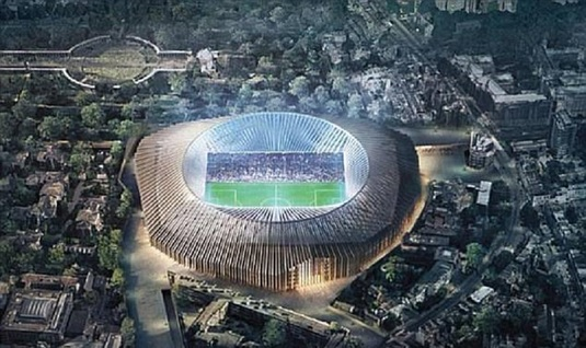 FOTO | Cel mai scump stadion din Europa! Clubul uriaş care investeşte peste 1 MILIARD de euro în noua arenă