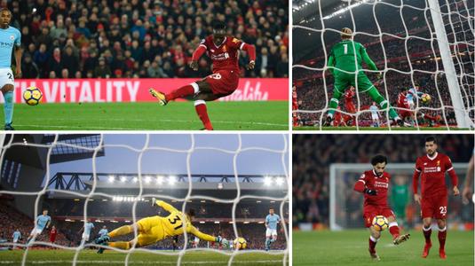 VIDEO | Meciul anului în Anglia s-a jucat deja la Telekom Sport: Liverpool - Man City 4-3! Goluri fabuloase şi final de infarct!