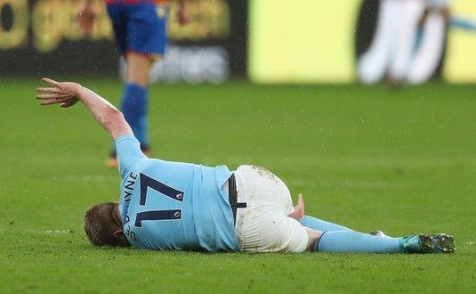 O veste bună şi o alta proastă pentru Guardiola. Cât vor lipsi Gabi Jesus şi De Bruyne după accidentările suferite cu Palace