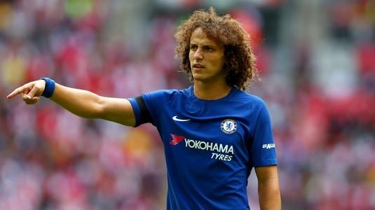 David Luiz îi va enerva la maximum pe suporterii lui Chelsea! Fundaşul s-a certat cu Conte şi pleacă la o rivală din Premier League