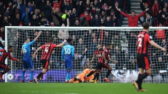 VIDEO | Arsenal s-a făcut din nou de râs! A pierdut cu Bournemouth, deşi a condus!
