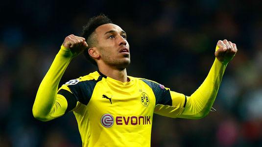 """Borussia Dortmund s-a înţeles cu Arsenal! Aubameyang se face """"tunar"""" pentru un salariu colosal: 10.000.000 de euro pe an"""